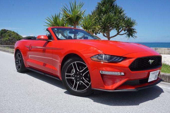 フォード マスタング 赤画像