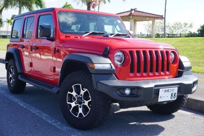 Jeep ラングラーアンリミテッド(迷彩)画像