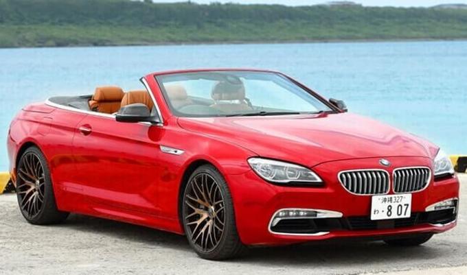 BMW 6シリーズカブリオレ画像
