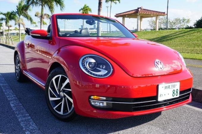 VW ザ・ビートル(ホワイト)画像
